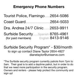 Surfside Security Program